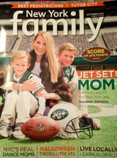 NY Family mag halloween cover