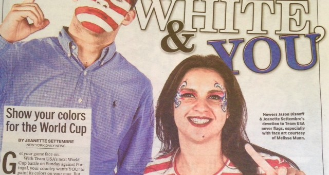 Face Art by Melissa in the Daily News 7/14