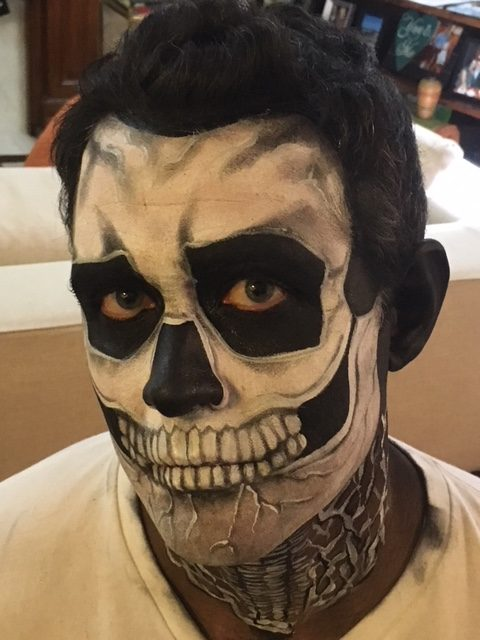 Fave Halloween Face Painting